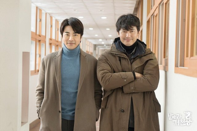 [Photos] New Behind the Scenes Images Added for the Korean Drama 'Delayed Justice'
