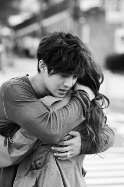 City Conquest Kim Hyun Joong And Jung Yoo Mi Hug With Tears