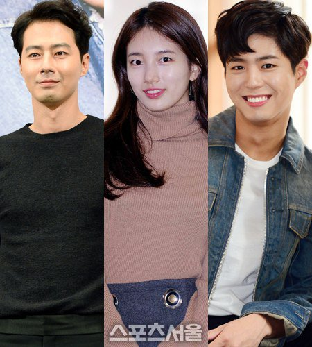 Photos] Jo In-sung, Suzy and Park Bo-gum's pictures