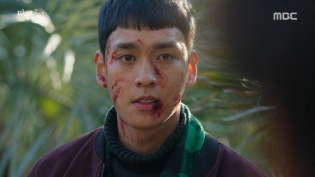 Tae-ho stating he wants to kill everyone