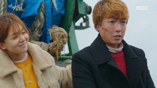 Bong-hee and Joon-oh