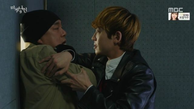 Joon-oh fighting with Do-pal