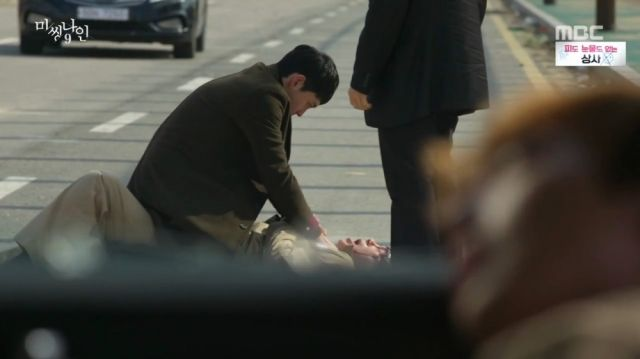Tae-ho trying to kill Do-pal