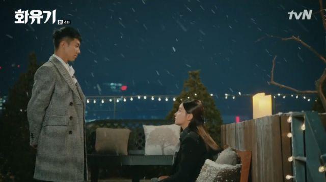Oh-gong meeting a shaken Seon-mi