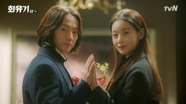 Jonathan and Seon-mi in Ma-wang's imagination