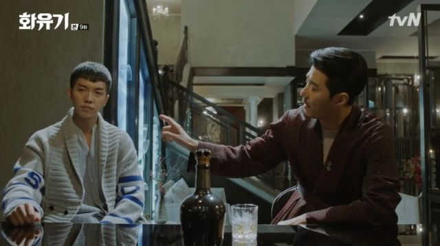 Ma-wang giving Oh-gong a lecture