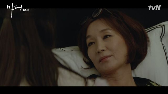 Yeong-sin and her daughter