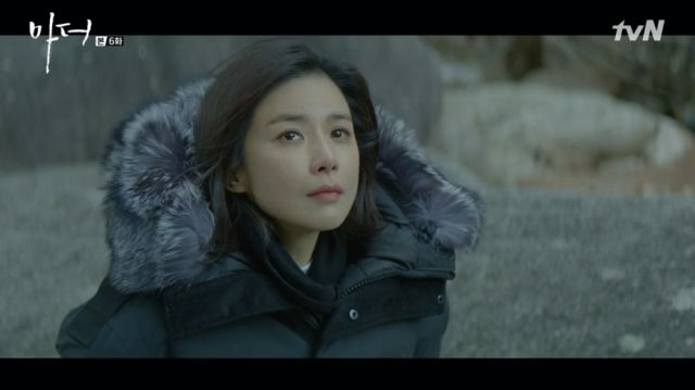 Soo-jin having a moment with her thoughts