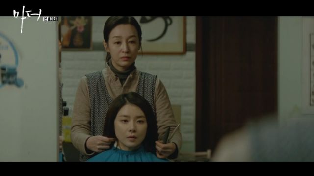 Soo-jin and her biological mother