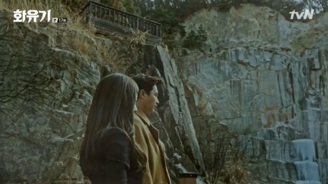 Dae-seong and Ah Sa-nyeo at the dragon's lair