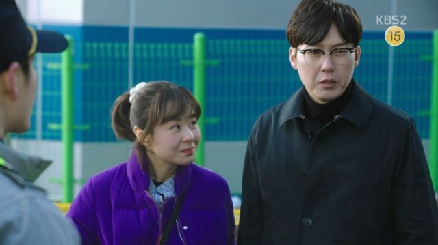 Inspector Woo and Seol-ok solving a fire incident
