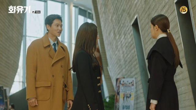 Seon-mi facing Dae-seong and Ah Sa-nyeo