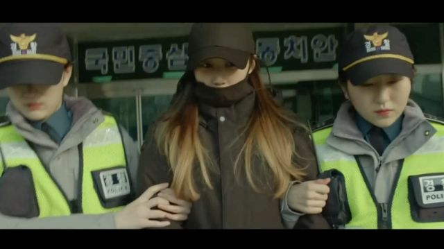 Ja-yeong being arrested