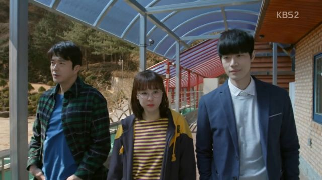 Wan-seung, Seol-ok and a suspect