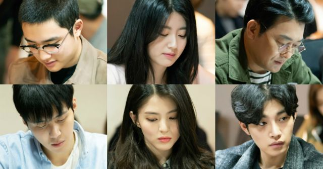 [Orion's Daily Ramblings] '100 Days My Prince' Releases First Script Reading Photos